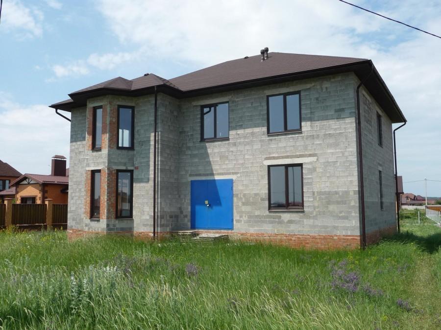 Гараж из керамзитобетонных блоков, строительство гараж